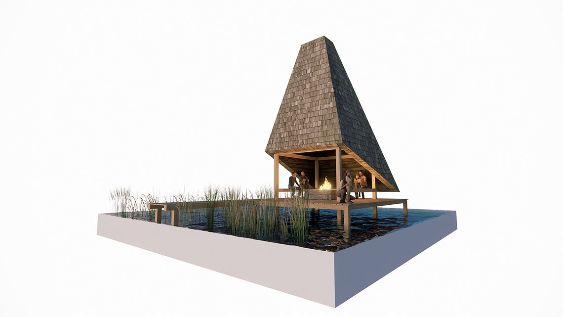 LOOP architects shelter 4
