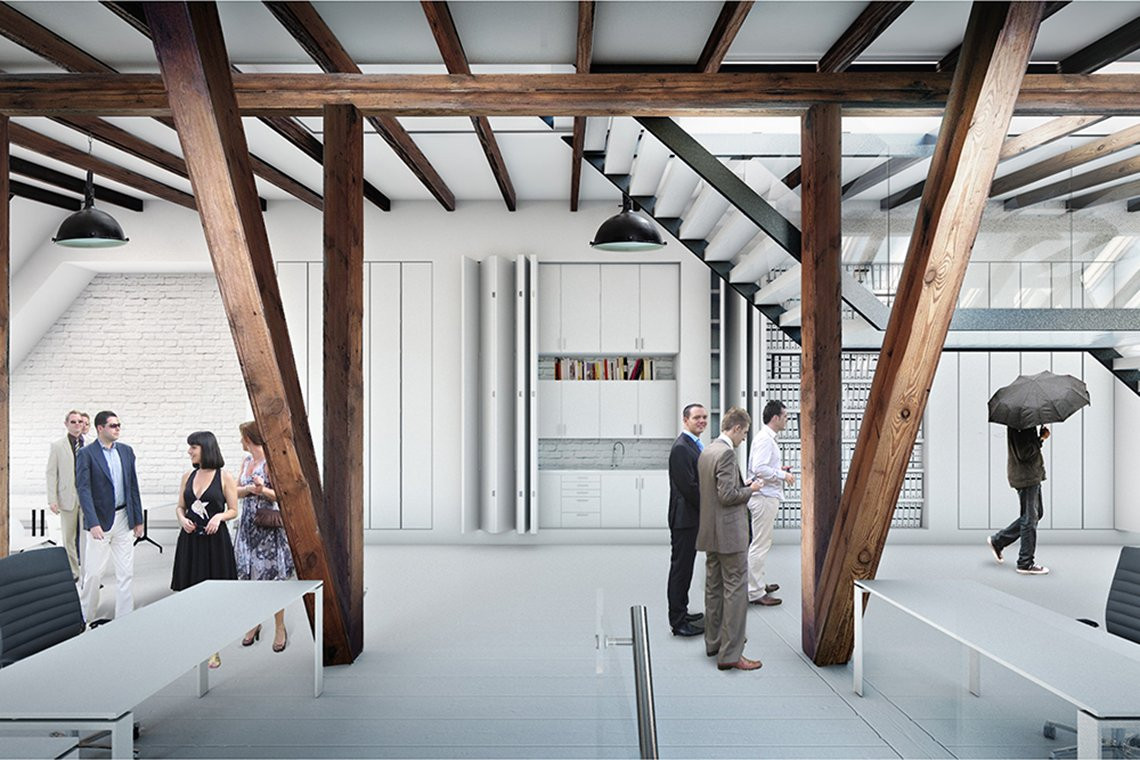 LOOP architects the loft rendering