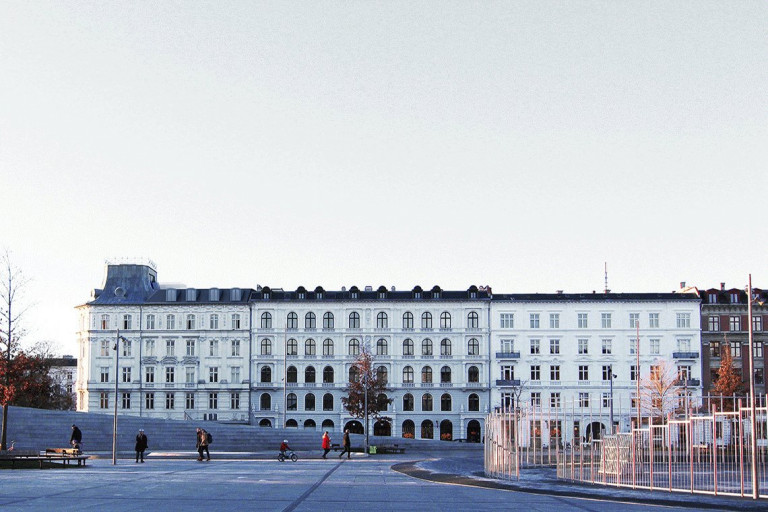 LOOP architects tagboliger KBH facaderendering